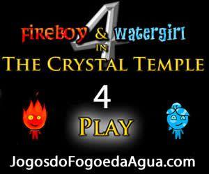 Video Do Jogo Do Fogo E Da Agua 4 No Templo De Cristal Agua E