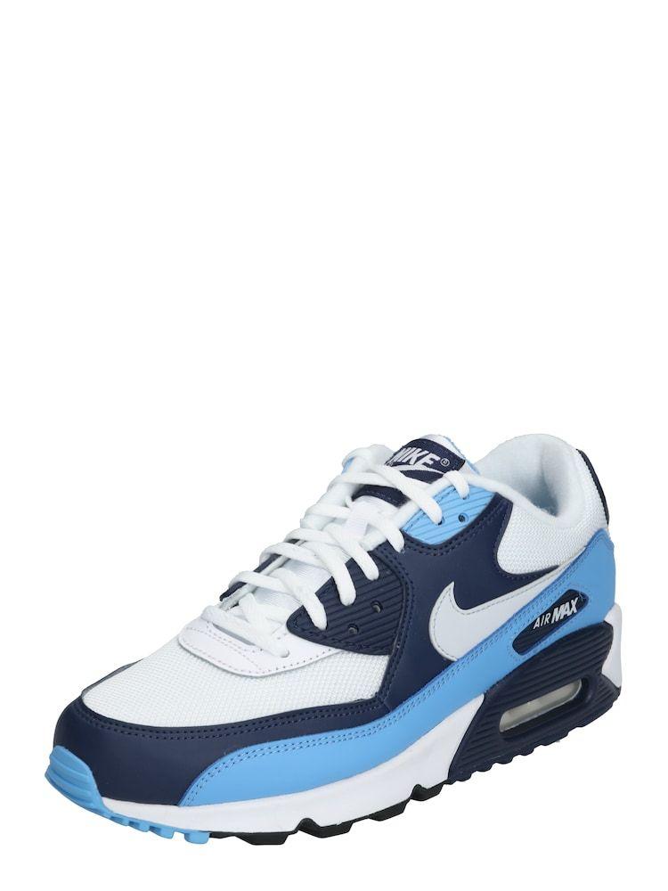 Nike Sportswear Sneaker Air Max 90 Essential Herren Navy Royalblau Weiss Grosse 44 5 Air Max 90