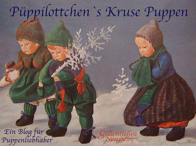 Kathe Kruse Postcard