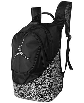 Nike Jordan Boys  or Little Boys  Elementary Color Print Backpack - Kids  Accessories - Macy s ac60ddfe1e22f