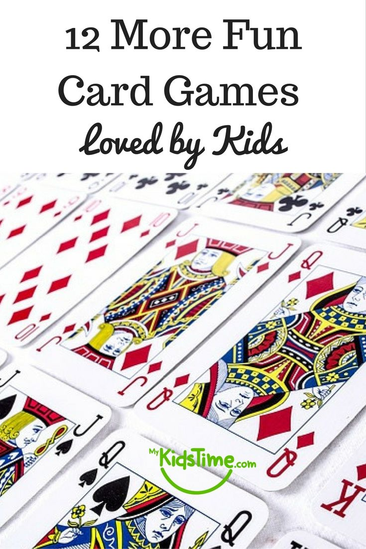 12 more fun card games loved by kids fun card games