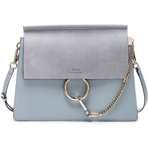 Chloe Medium Leather Faye Bag found on Polyvore featuring bags ... cb3c4ec5a5
