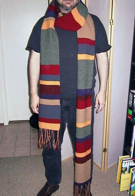 dr_who by a_skopik, via Flickr doctor who tom baker scarf crochet ...