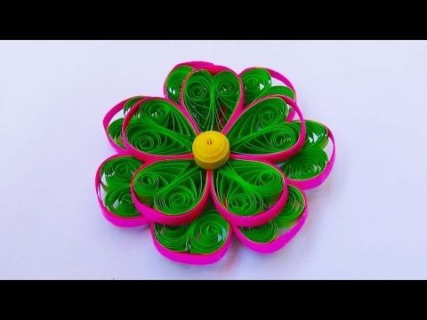 Paper quilling 3 color 3d quilling flower tutorial youtube paper quilling 3 color 3d quilling flower tutorial youtube mightylinksfo