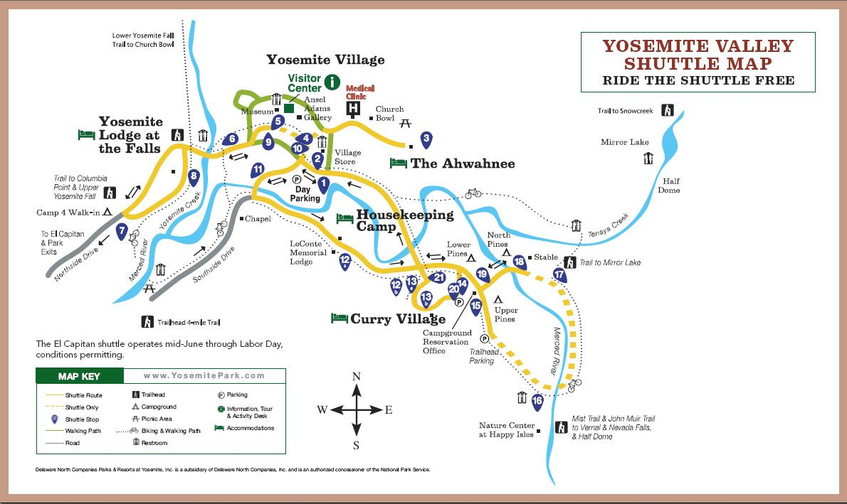 The Shuttle Map for Yosemite Valley | Yosemite National Park - Maps on livingston road map, oceanside road map, petrified forest road map, temecula road map, north fork road map, santa rosa road map, animal road map, simi valley road map, mount washington road map, alabama gulf coast road map, montebello road map, oakland road map, bass lake road map, vashon road map, oroville road map, vacaville road map, west seattle road map, long beach road map, san fernando road map, pasadena road map,