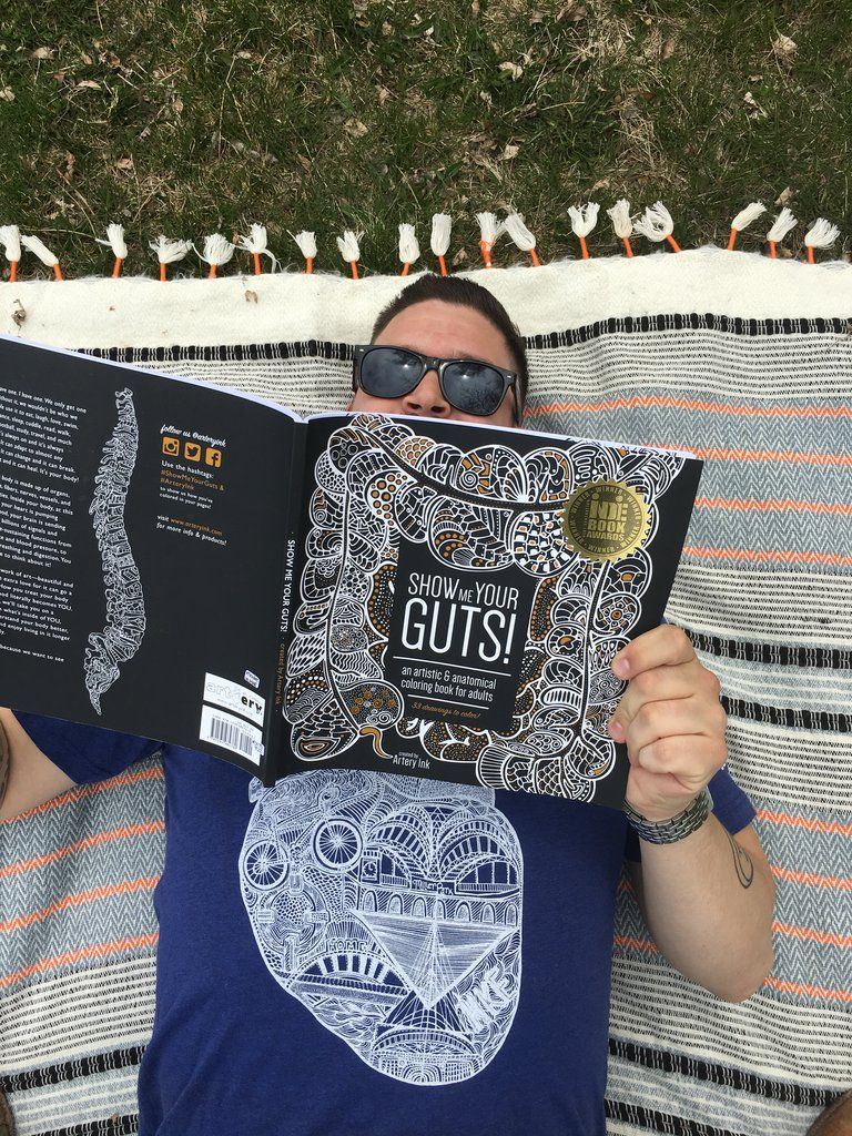 Show Me Your Guts Coloring Book Coloring Books Indie Books Book Awards