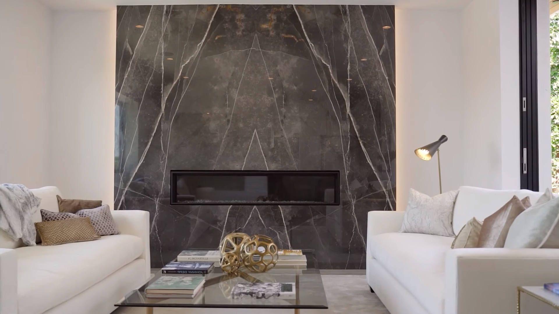 Moderne Farbschemata Für Wohnzimmer 10 Mit Elektrokamin Heizung