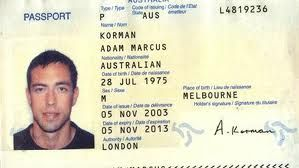 Australia Biodata Certificate پاسپورت Page Birth Citizenship Passport