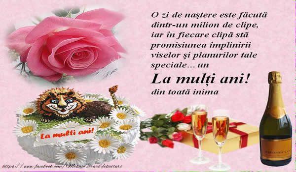 Zile De Nastere Felicitari Pentru