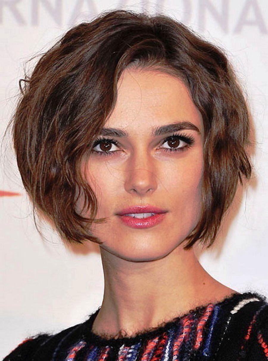 Model Rambut Pendek Keriting Square Face Hairstyles Short Hair Styles Haircut For Square Face