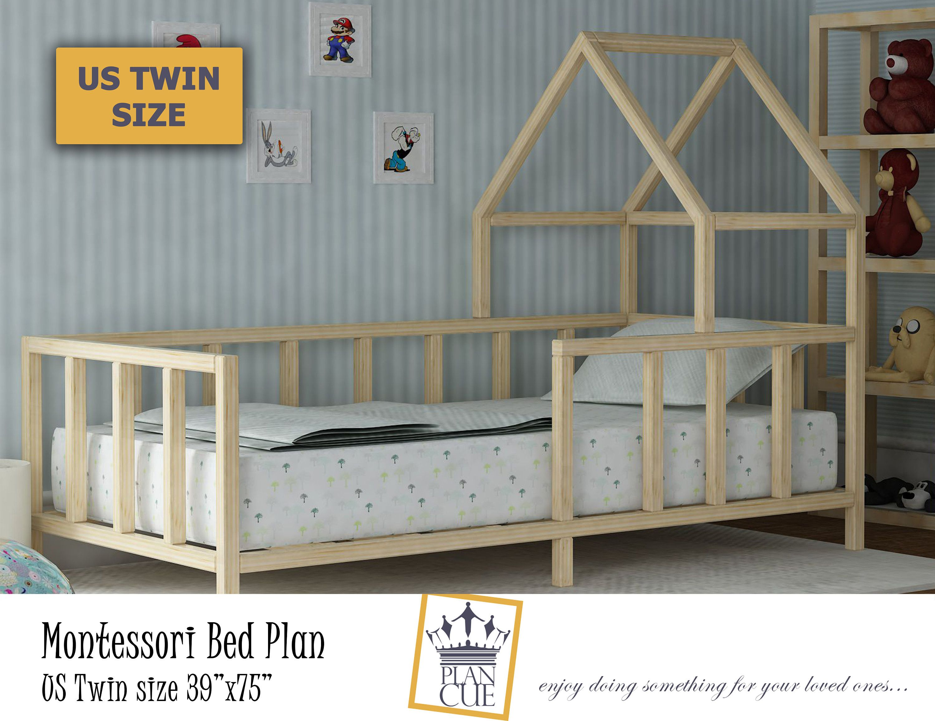 This Item Is Unavailable Etsy Toddler Bed Frame House Beds For Kids Montessori Toddler Bedding