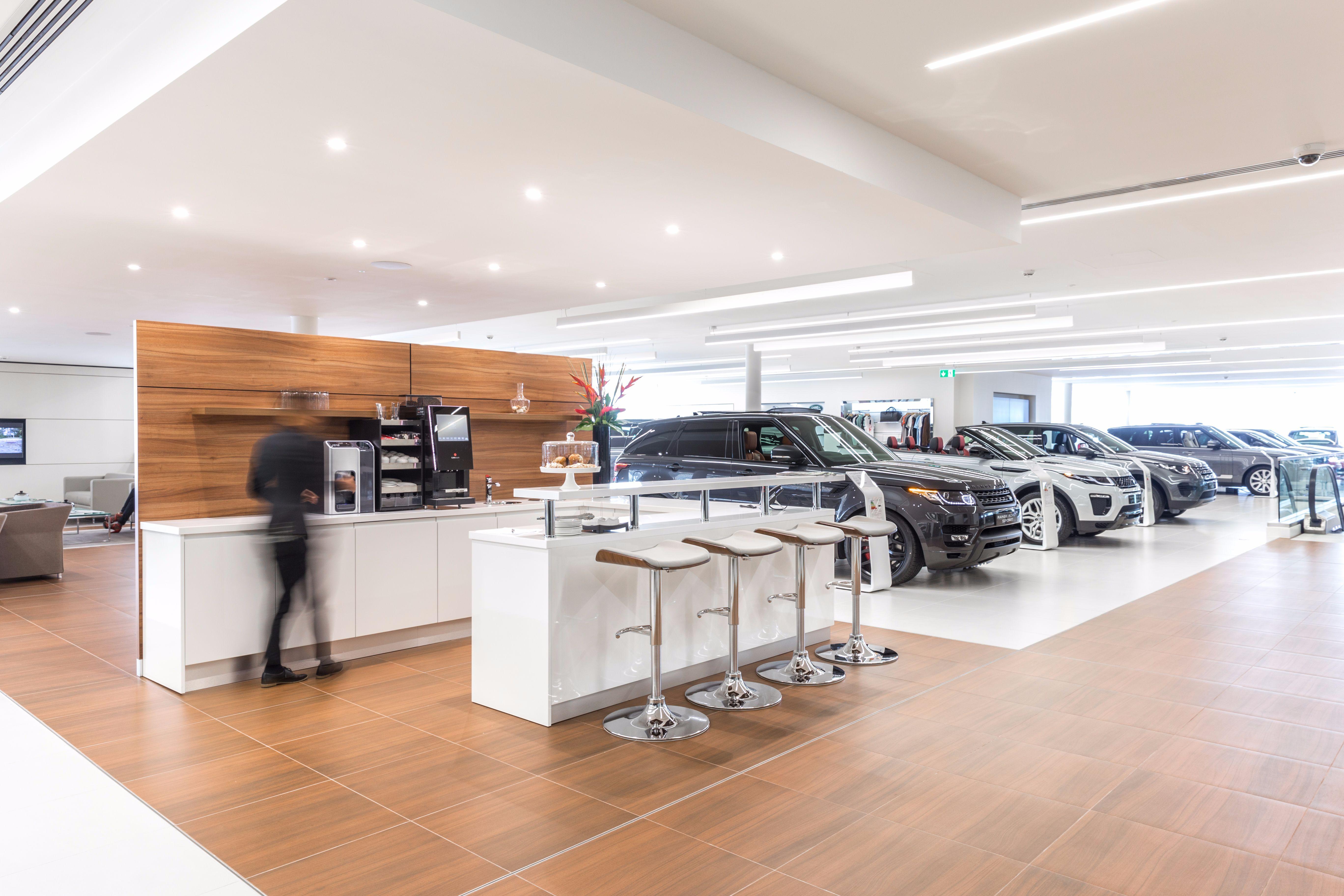 Land Rover Dealership >> New Jaguar Land Rover State Of The Art Dealership In West