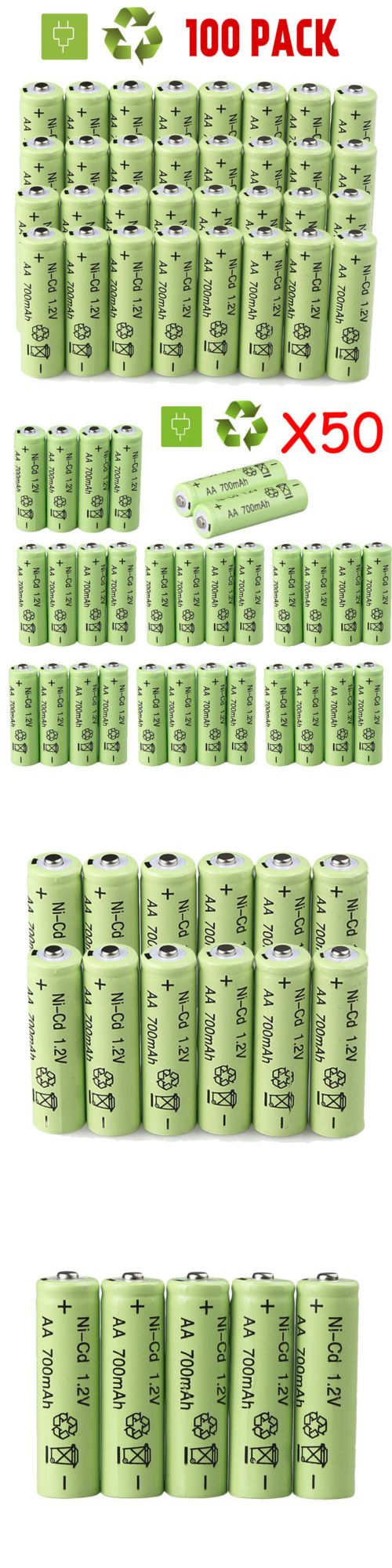 Games 51024 Lot Aa Double A Battery 1 2v Nicd 700mah Rechargeable Batteries For Garden Light Buy It Now Only 10 59 On Ebay Games Solar Lights Rechargeable Battery Charger Police Lights