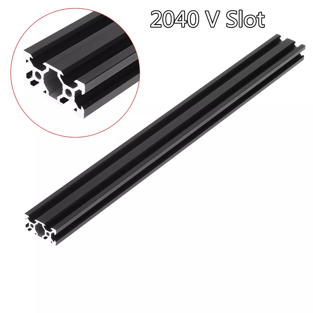 Machifit 100 1000mm Black 2040 V Slot Aluminum Profile Extrusion Frame For Cnc Tool Diy Mechanical Parts From Tools Industrial Scientific On Banggood Com Mayro