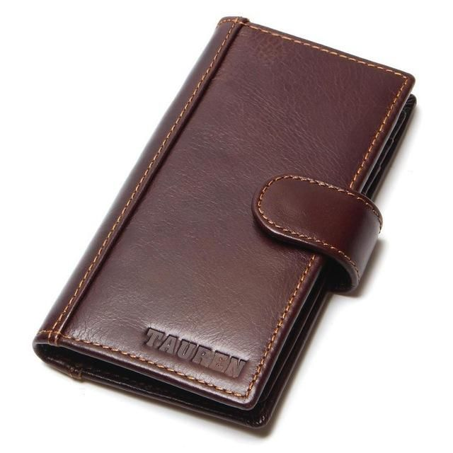 products tauren genuine leather credit card holder mens business - Business Card Holder For Men