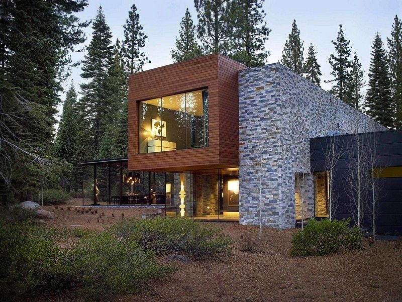 Modern Tahoe Mountain Retreat / Jamie Bush & Co | American ...