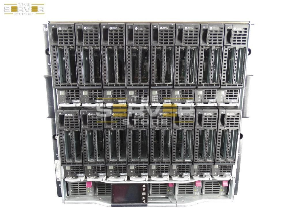 HP ProLiant C7000 W/ 16X WS460c G8 2X E5-2630L 32GB 2x 960GB
