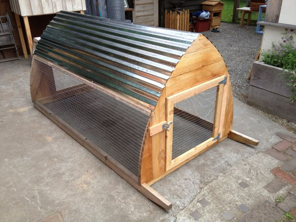 Gothic ark saltbox designs chicken coops to love coops rabbit hutches chicken tractors for Eastside urban farm and garden