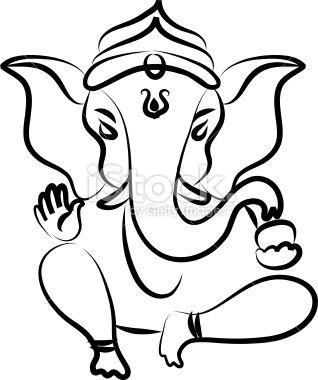 Pix For > Simple Ganesh Sketch …   Ganesh   Ganes…