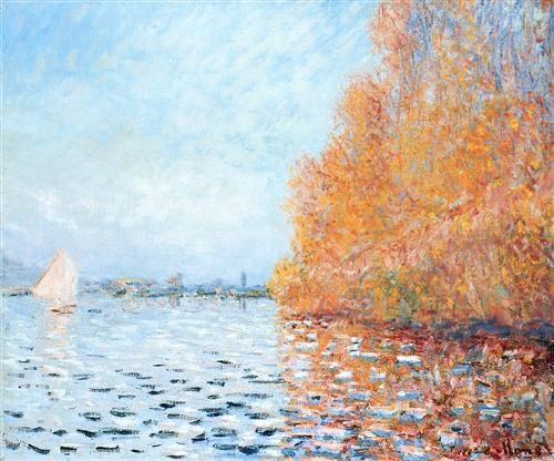 The Siene At Argentuil Claude Monet Monet Art Monet Paintings