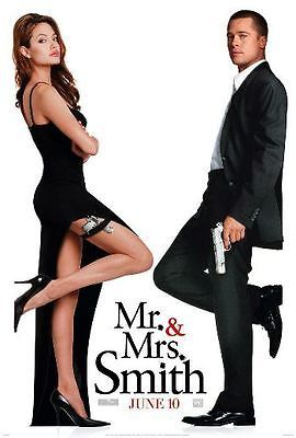 Just put some nice 1-sheets (27x40) up on Ebay. Click the link below to see the description.  MR. & MRS. SMITH -2005-Orig 27x40 movie poster -Adv of Both - BRAD PITT, A.JOLIE