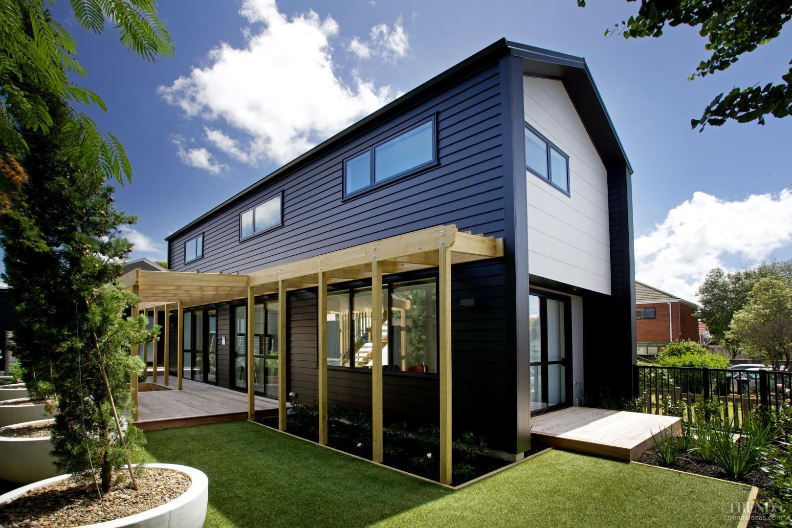 James hardie linea weatherboard cladding google search for Modern weatherboard home designs