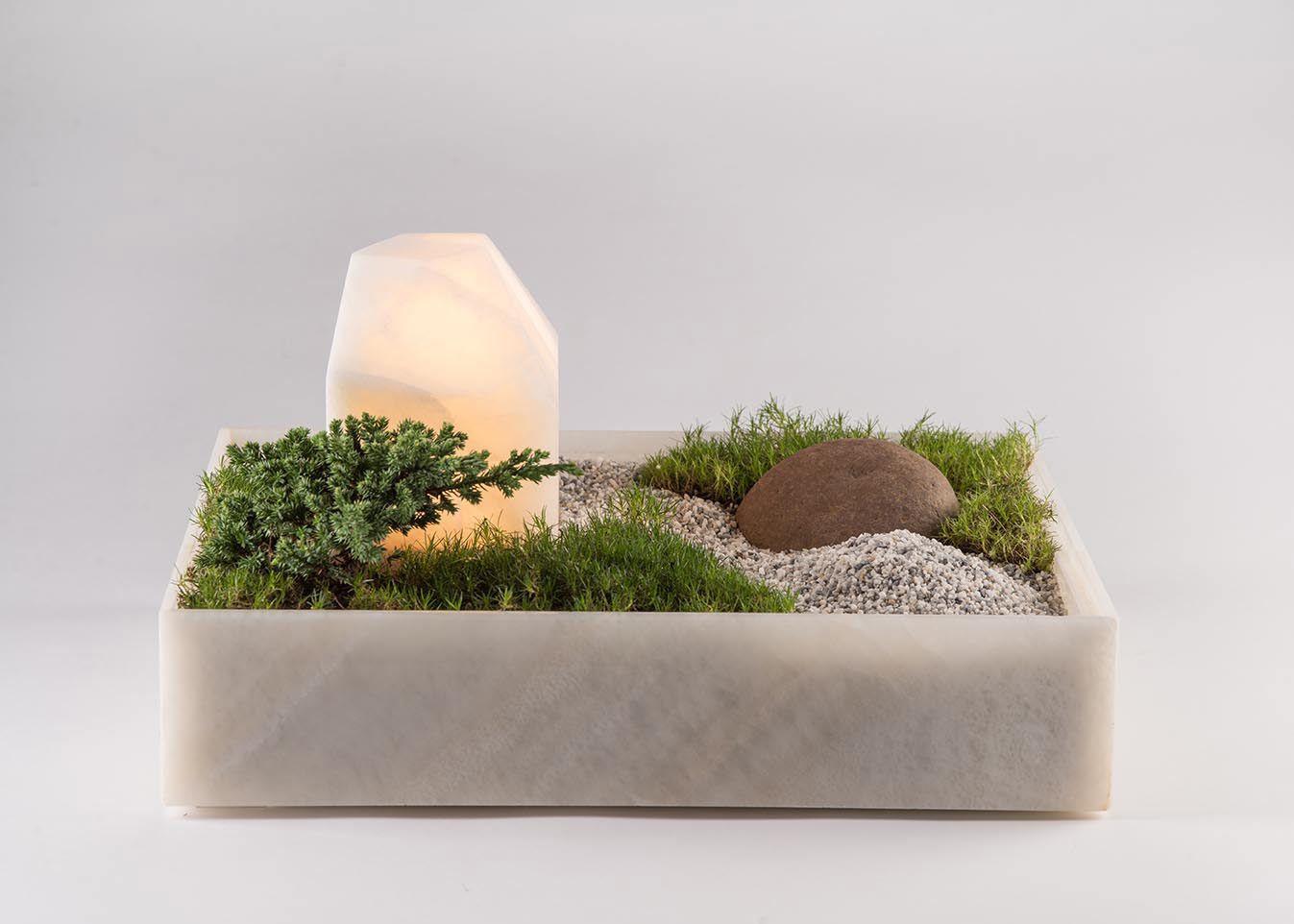 Good A Tabletop Planter Lamp That Makes You The Landscape Designer.