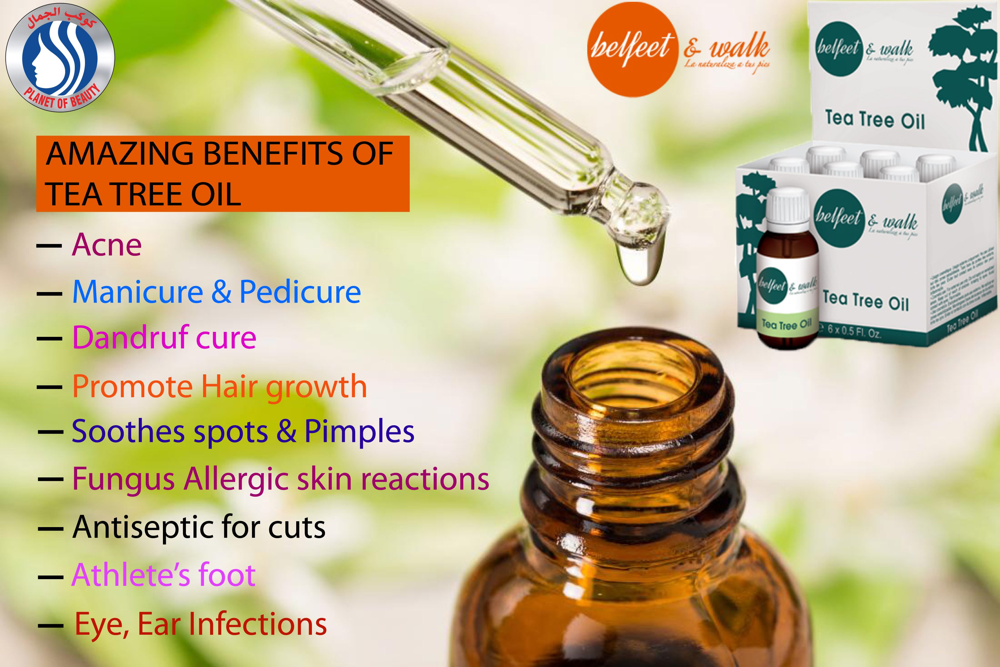 Belfeet Tea Tree Oil Tea Tree Oil Tree Oil Tea Tree