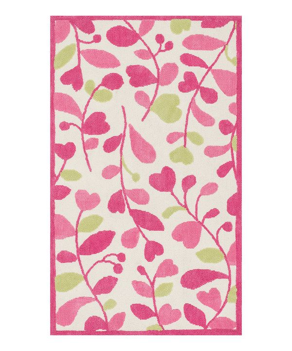 Loving This Zulily Exclusive Pink Amp Green Zoey Rug On