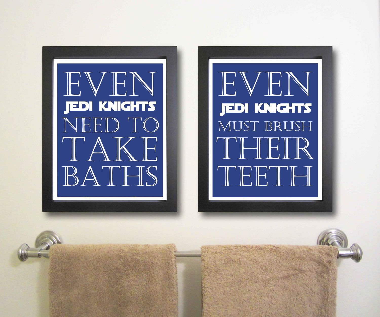 Even Jedi Knights Need To Take Baths Twins Room
