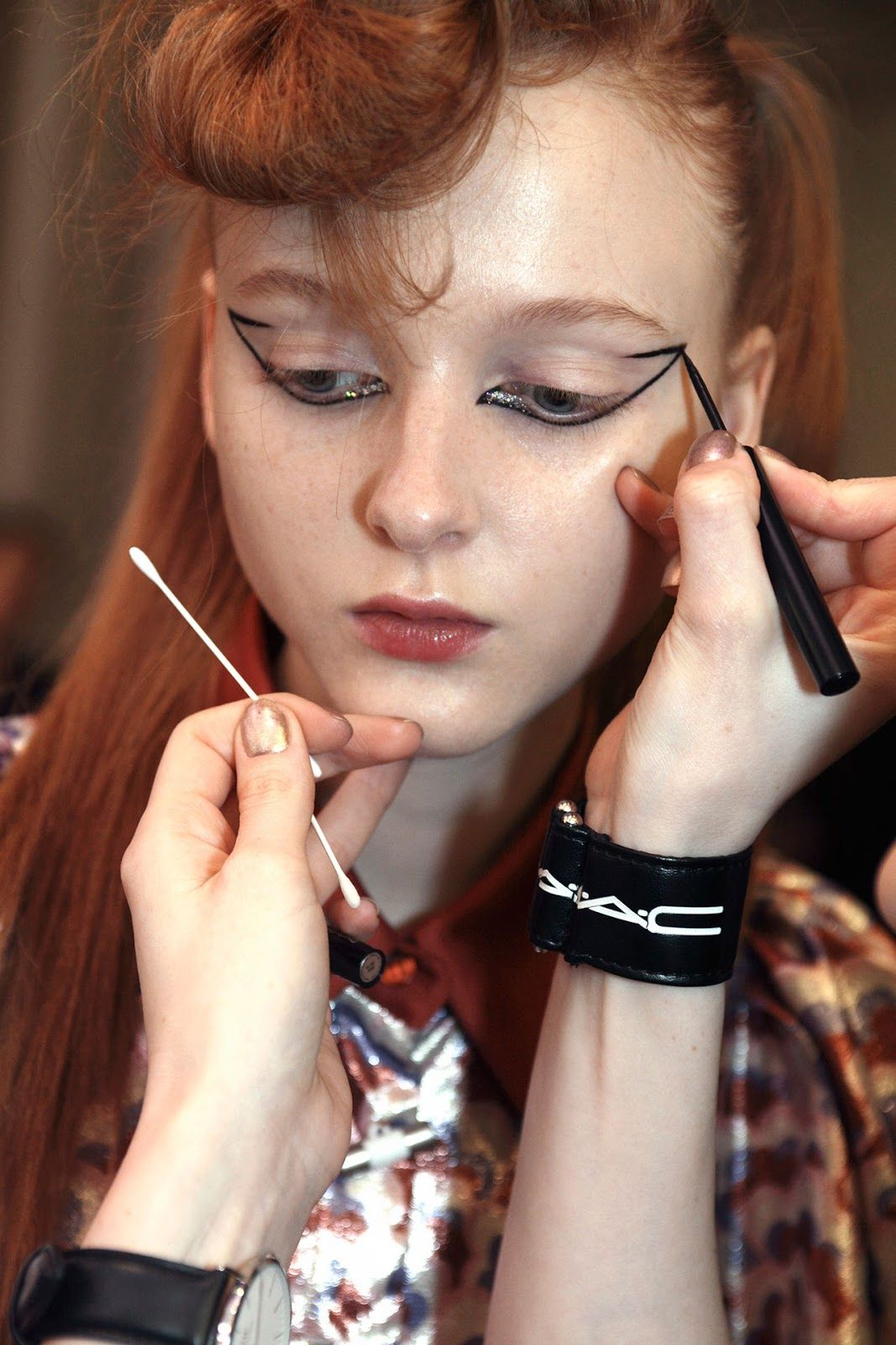 MAKEUP KENZO FALL WINTER 2016/2017 …   Hair and Make-up in ...