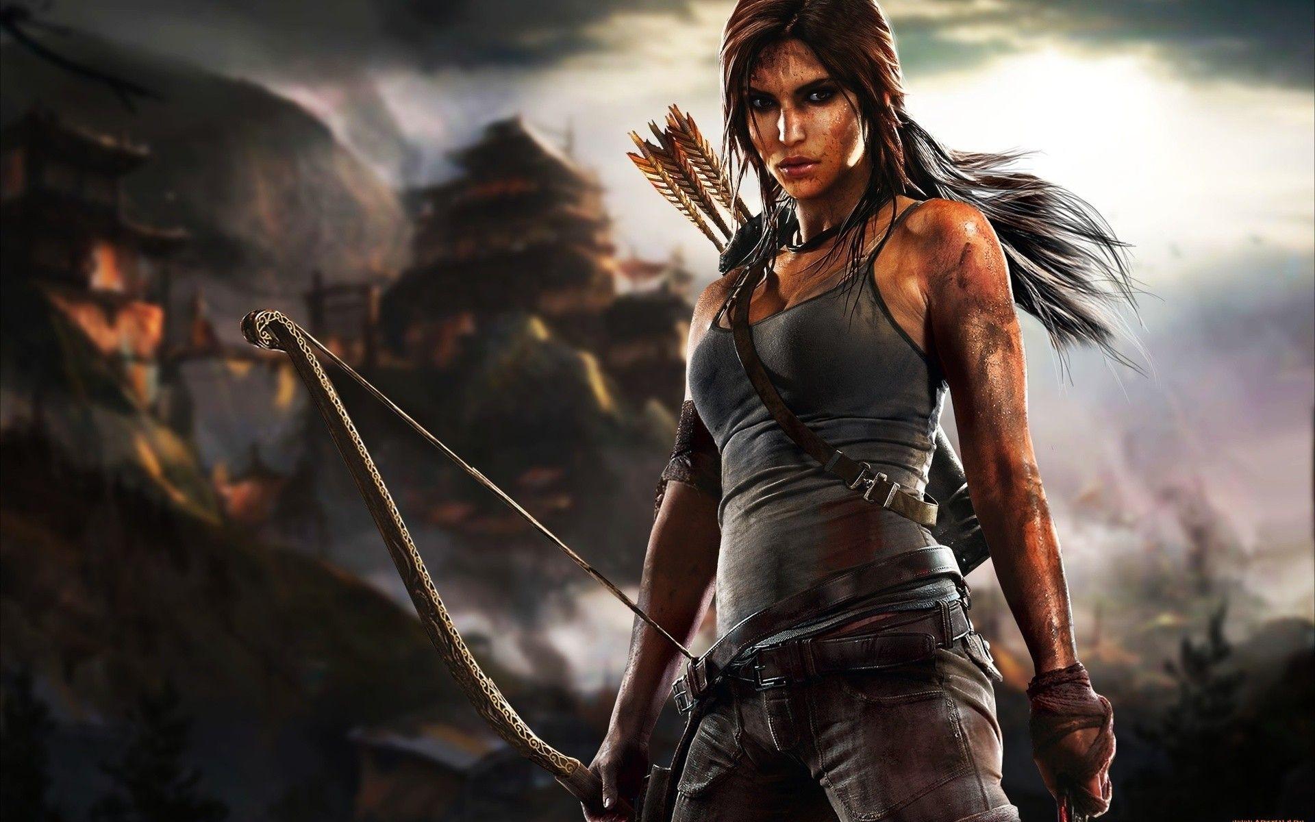Pin Di Lara Croft