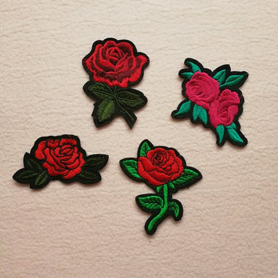XIAONAN Flowers /& Butterflies Set of 15pcs DIY Applique Patches Iron On Flower Patches Embroidered Repair Patches Mixed Color Patches for T-Shirt Jean Clothes Bag Jacket Backpack and Shoe