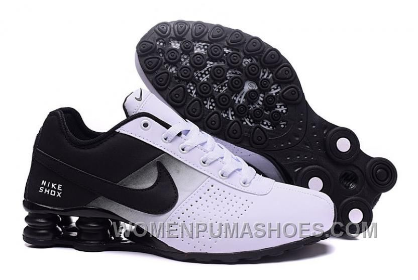 uk availability 8b72f c85d4 NIKE SHOX DELIVER BLACK WHITE 2016 NEW Lastest NheXmc