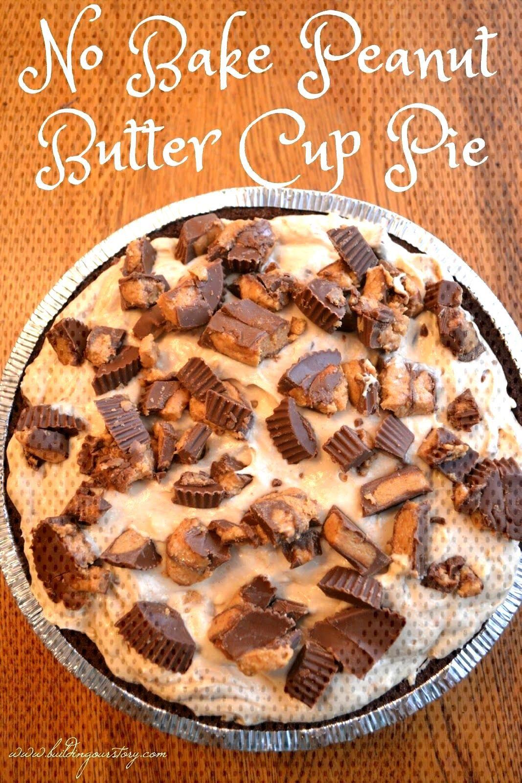 No Bake Peanut Butter Cup Pie, no bake pies, No Bake Peanut Butter Cup Pie…No Bake Peanut Butter