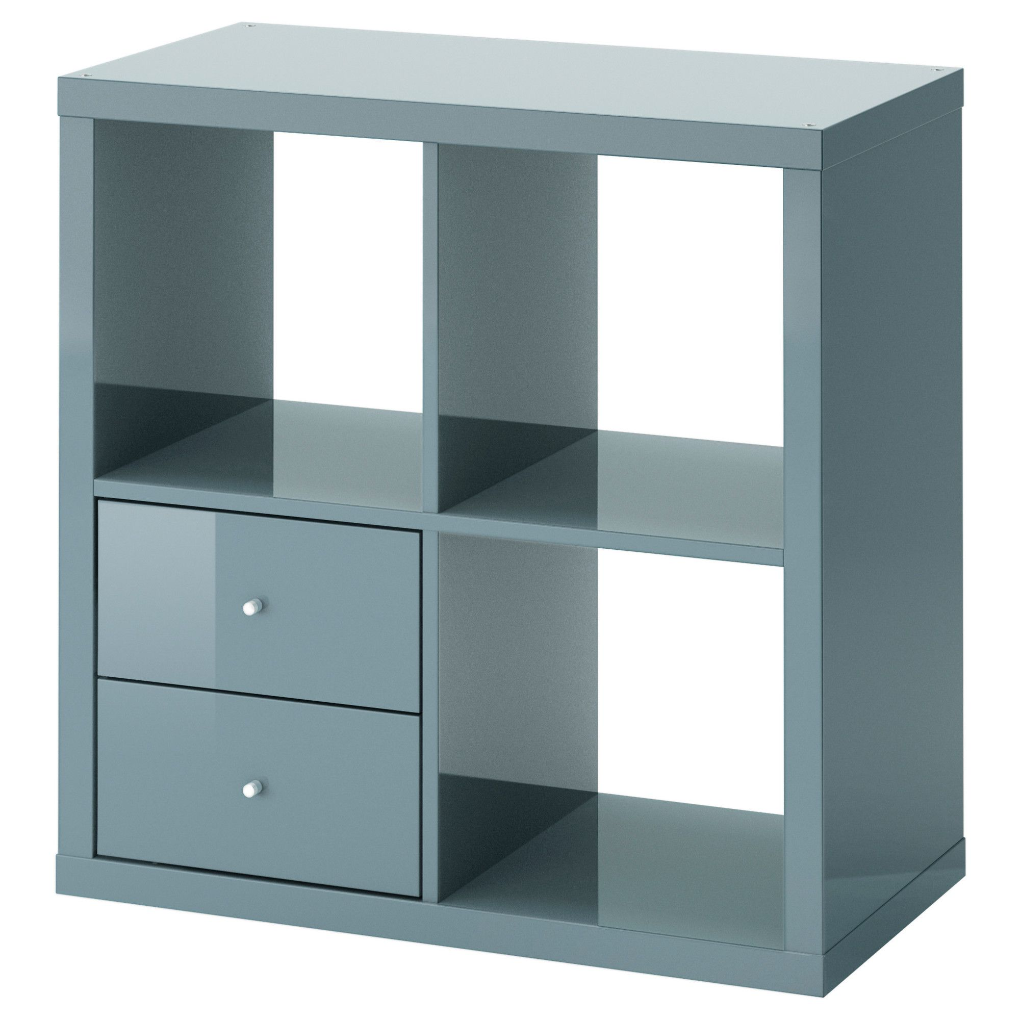 Ikea Shelves Perth Ikea Kallax Shelving Unit With Drawers High Gloss Grey Turquoise