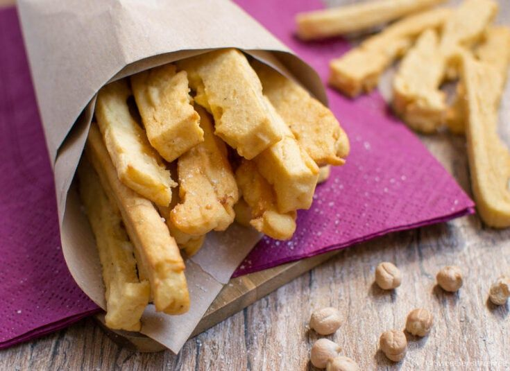Photo of Fried Chickpea flour Sticks (traditional Italian recipe) Gluten Dairy Egg free