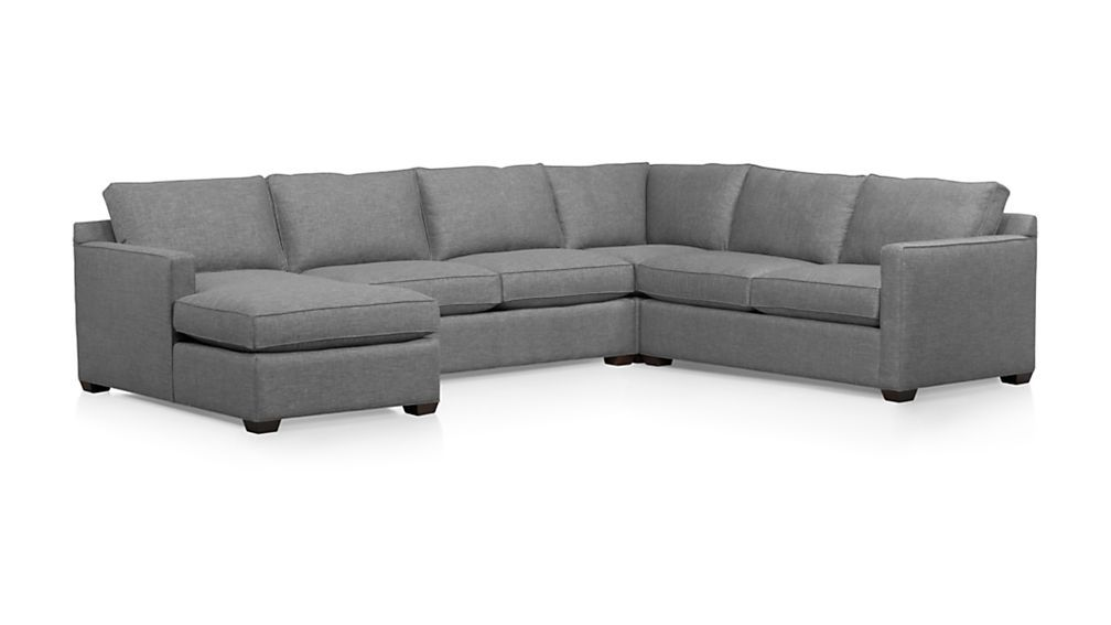 Remarkable Davis 4 Piece Sectional Sofa Sectional Sofa Furniture Gmtry Best Dining Table And Chair Ideas Images Gmtryco