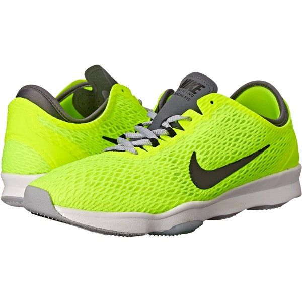 Womens Shoes Nike Zoom Fit Volt/Dark Grey/White/Black