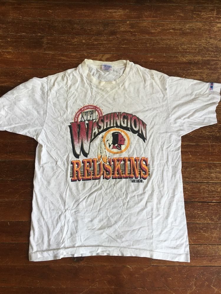 cheap for discount a65d0 866f9 Vintage NFL Washington Redskins Shirt | eBay | 80s 90s ...