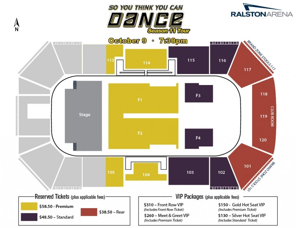 So You Think You Can Dance Season 11 Tour Ralston Arena For Ralston Arena Seating Chart Ralstonarenalancersseatingchart Ralstonarenaseatingchartconcert Rals Di 2020