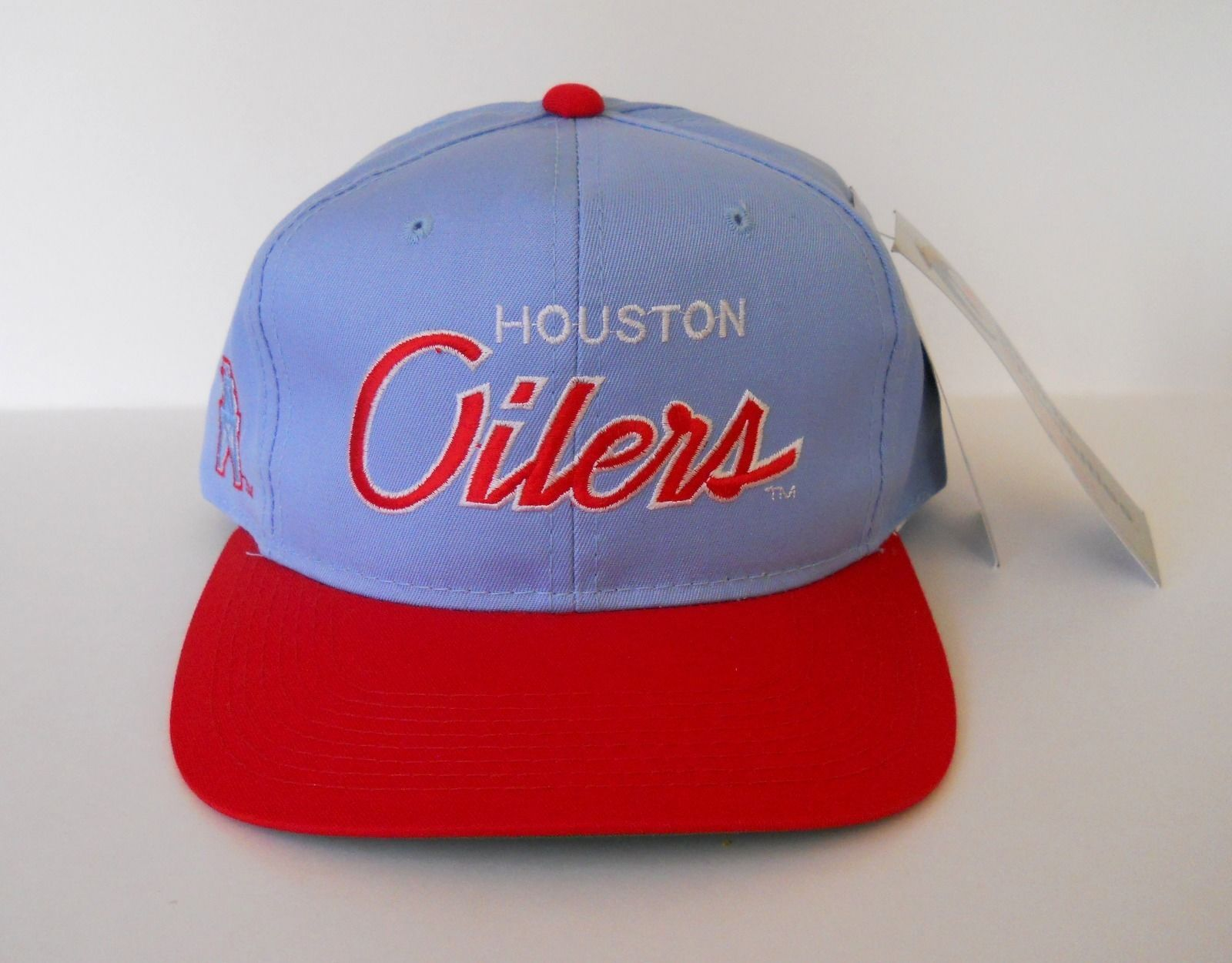 2c72a00df ... promo code for sports specialties houston oilers snapback hat early 90s  nfl new with tags ebay