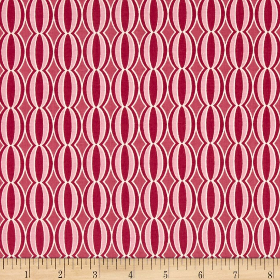 Riley Blake Botanique Circles Berry Fabric By The Yard