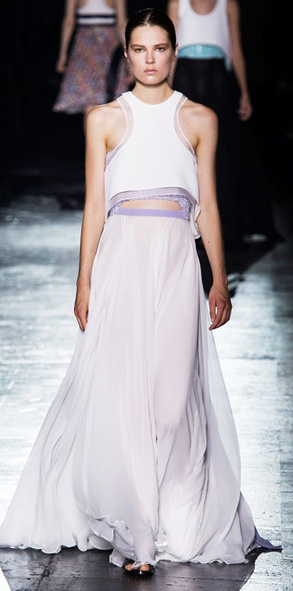 f436cba697 23 Spring 2015 Runway Looks That Can Double as Wedding Dresses - Prabal  Gurung from #InStyle