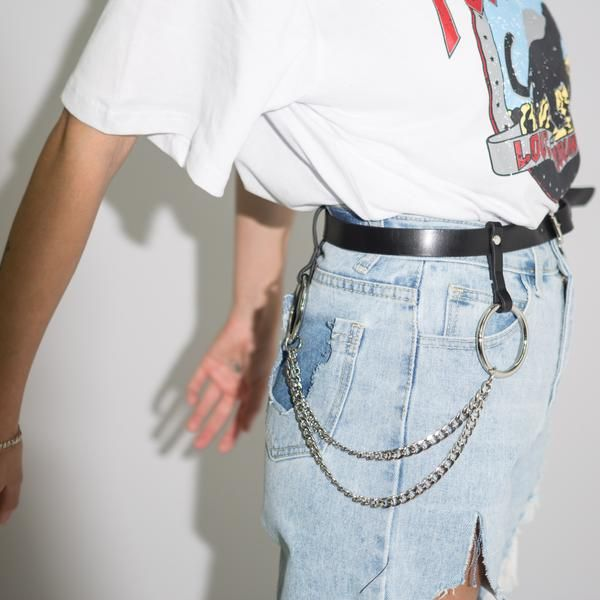 Double Chain Belt*