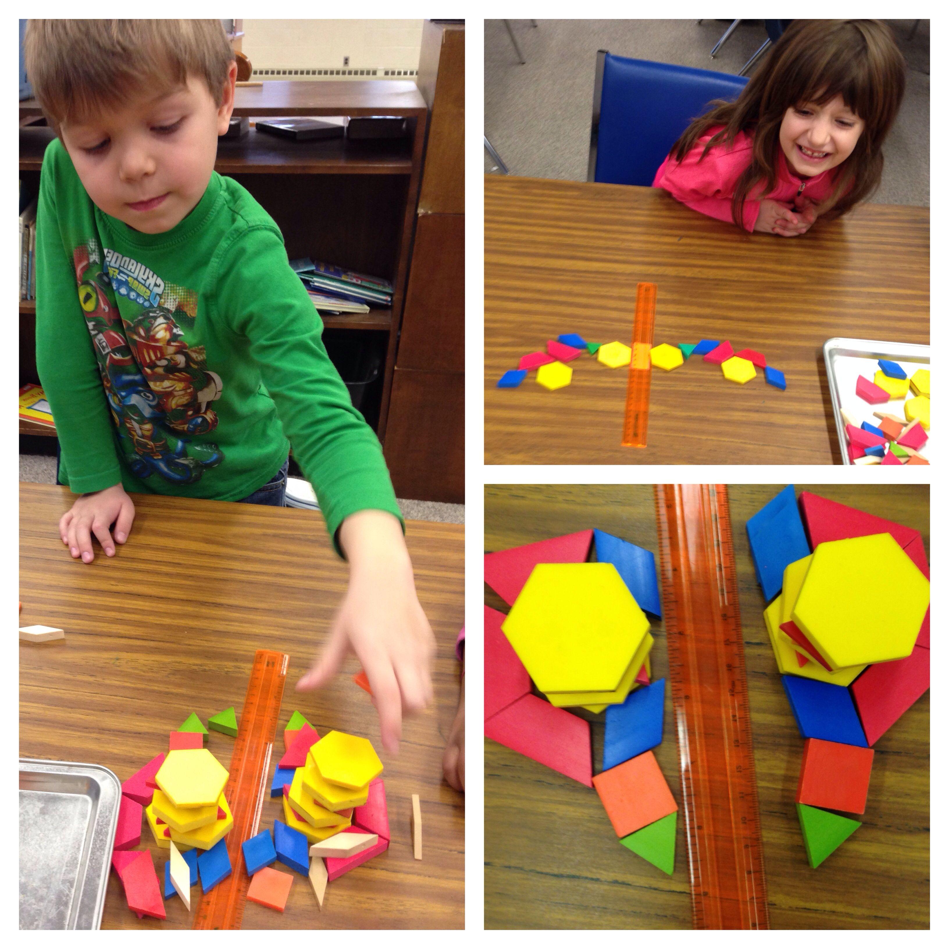 Symmetry Pattern Blocks Collaborative