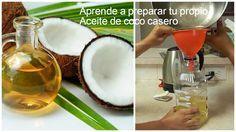 Cómo preparar aceite casero de coco paso a paso ~ Belleza y Peinados