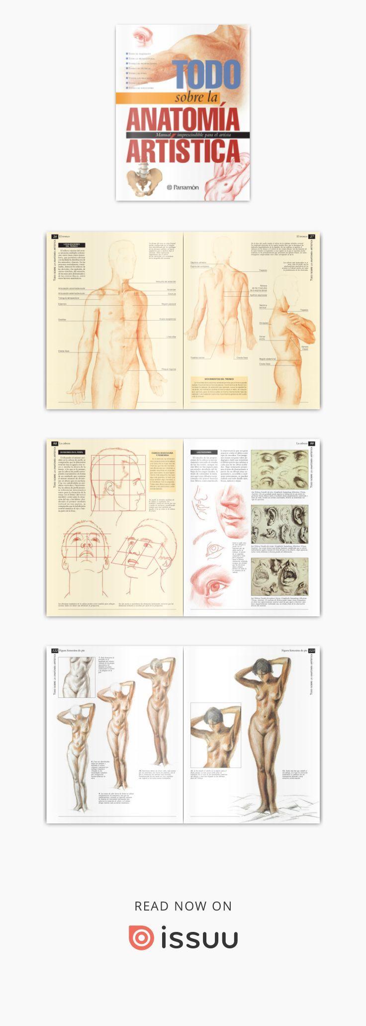 Todo sobre la técnica - Anatomía artística | Dibujo anatomico ...