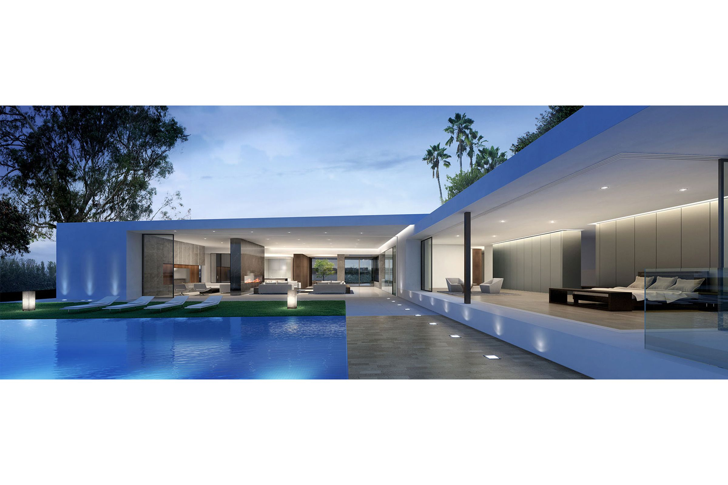 RF House, Los Angeles, California Architecture, Concept