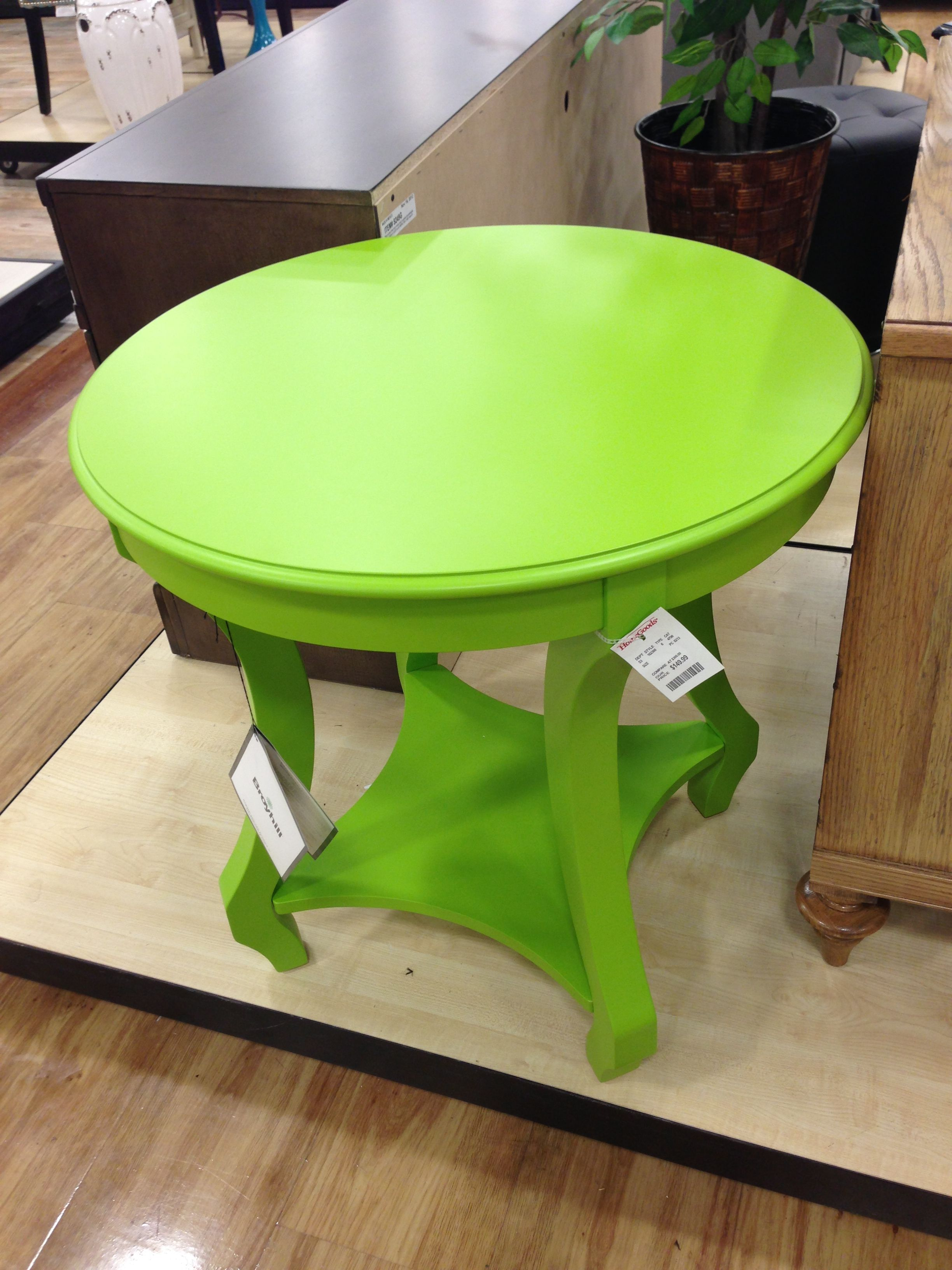 - Love This Lime Green Accent Table From @homegoods Green Accent